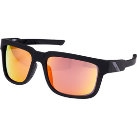 100% Type S Okulary, soft tact black